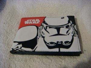Star Wars Storm Trooper wallet .